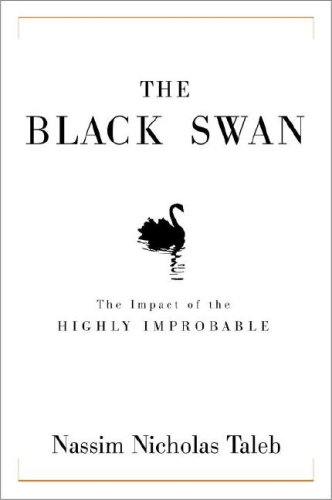 The cover of The Black Swan: The Impact of the Highly Improbable
