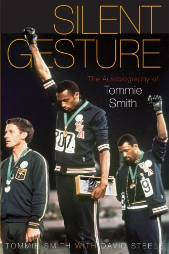 The cover of Silent Gesture: The Autobiography of Tommie Smith (Sporting)