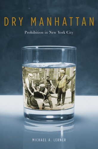 The cover of Dry Manhattan: Prohibition in New York City