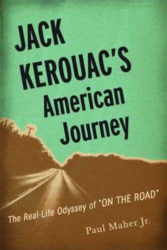 The cover of Jack Kerouac's American Journey: The Real-Life Odyssey of On the Road
