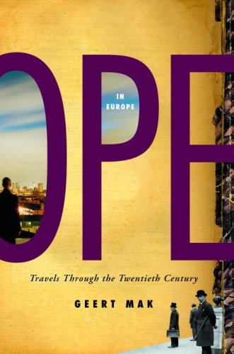 The cover of In Europe: Travels Through the Twentieth Century