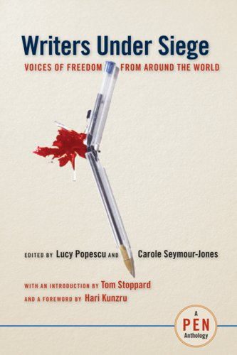 The cover of Writers Under Siege: Voices of Freedom from Around the World