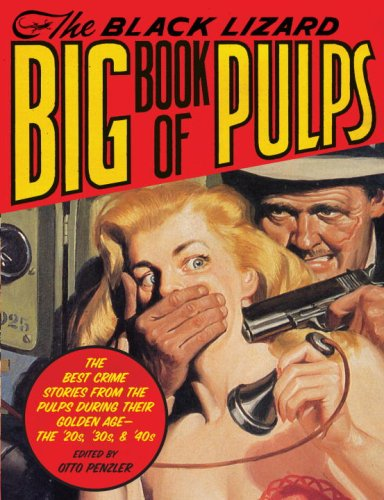 The cover of The Black Lizard Big Book of Pulps: The Best Crime Stories from the Pulps During