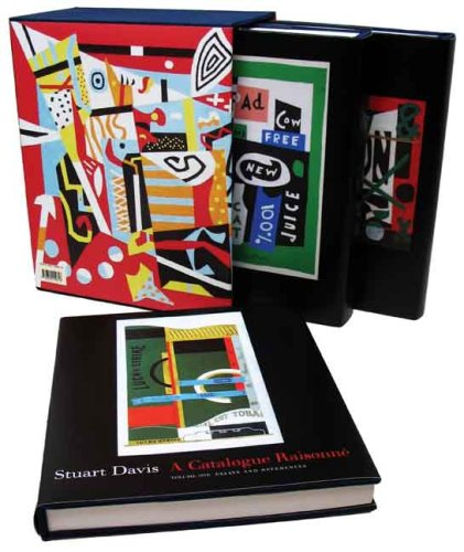 The cover of Stuart Davis: A Catalogue Raisonne (3 volumes) (Yale University Art Gallery)
