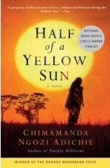 The cover of Half of a Yellow Sun