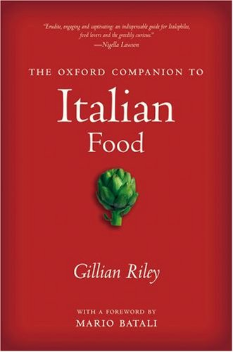 The cover of The Oxford Companion to Italian Food (Oxford Companion To...)