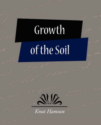 The cover of Growth of the Soil
