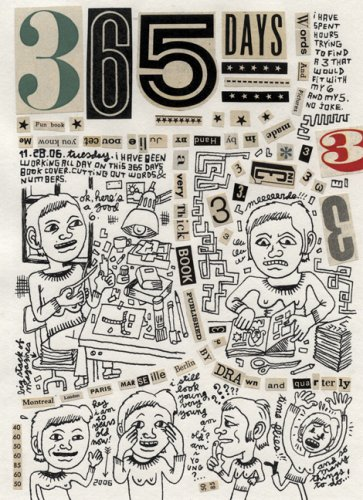 The cover of 365 Days: A Diary by Julie Doucet