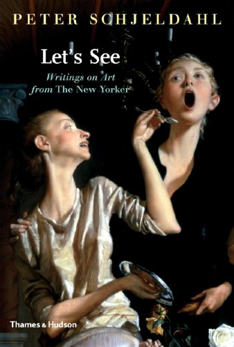 The cover of Let's See: Writings on Art from The New Yorker