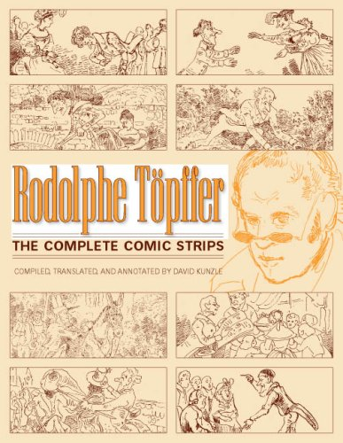 The cover of Rodolphe Topffer: The Complete Comic Strips