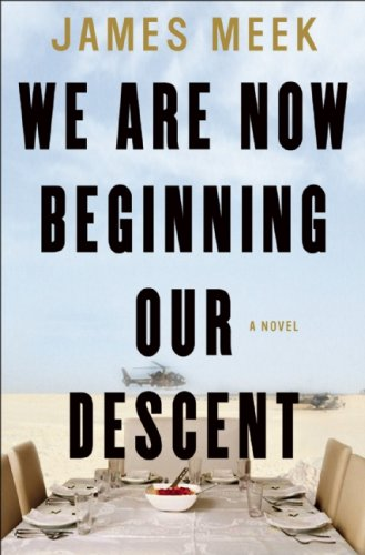 The cover of We Are Now Beginning Our Descent: A Novel