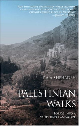 The cover of Palestinian Walks: Forays into a Vanishing Landscape
