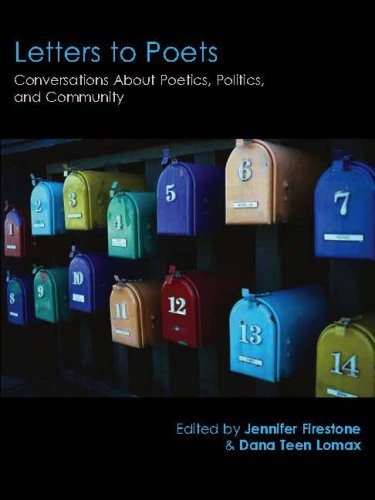 The cover of Letters to Poets: Conversations About Poetics, Politics, and Community