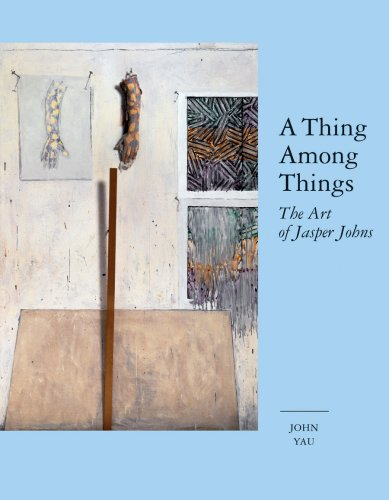 The cover of A Thing Among Things: The Art of Jasper Johns