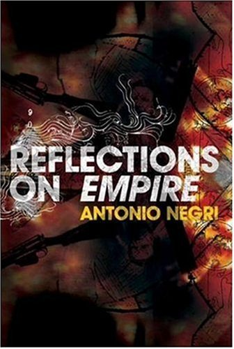 The cover of Reflections on Empire