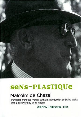 The cover of Sens-Plastique (Green Integer)