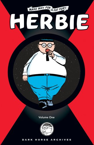 The cover of Herbie Archives Volume 1 (Archive Editions (Graphic Novels))