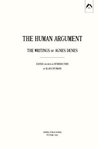 The cover of Human Argument: The Writings of Agnes Denes (Spring Publications)