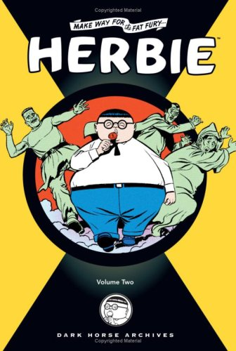 The cover of Herbie Archives Volume 2 (v. 2)