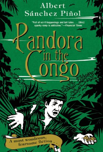 The cover of Pandora in the Congo