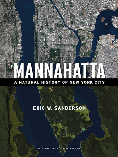 The cover of Mannahatta: A Natural History of New York City