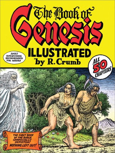The cover of The Book of Genesis Illustrated by R. Crumb