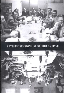 The cover of  Artists' Sessions At Studio 35 (1950)