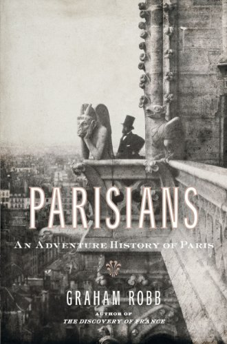 The cover of Parisians: An Adventure History of Paris