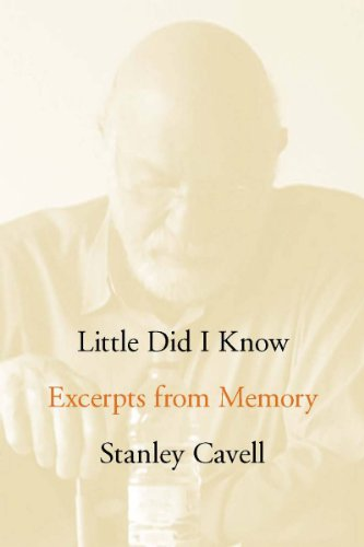 The cover of Little Did I Know: Excerpts from Memory (Cultural Memory in the Present)