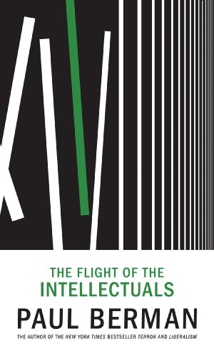 The cover of The  Flight of the Intellectuals
