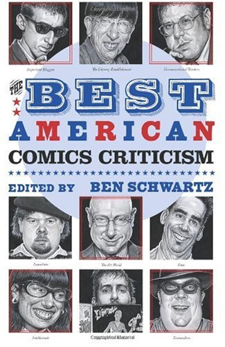 The cover of The Best American Comics Criticism