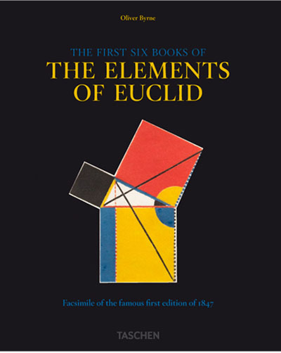 The cover of Six Books of Euclid
