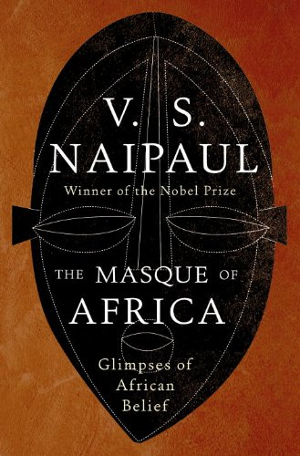 The cover of The Masque of Africa: Glimpses of African Belief