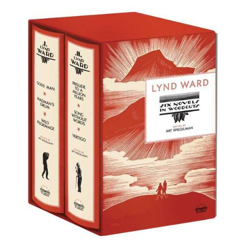 The cover of Lynd Ward: Six Novels in Woodcuts (Library of America)