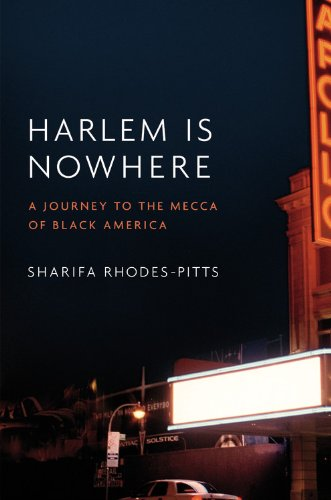 The cover of Harlem is Nowhere: A Journey to the Mecca of Black America