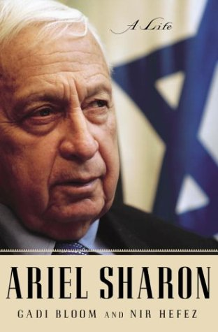 The cover of Ariel Sharon: A Life