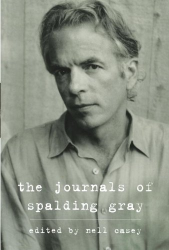 The cover of The Journals of Spalding Gray