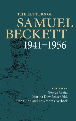 The cover of The Letters of Samuel Beckett: Volume 2, 1941-1956