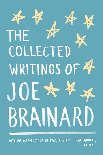 The cover of The Collected Writings of Joe Brainard (Library of America)