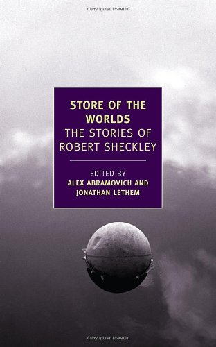 The cover of Store of the Worlds: The Stories of Robert Sheckley (New York Review Books Classics)