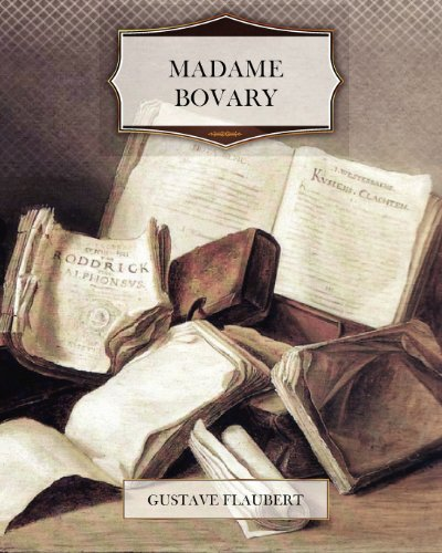 The cover of Madame Bovary