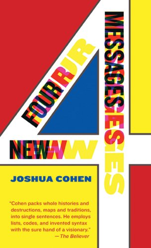 The cover of Four New Messages