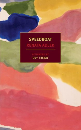 The cover of Speedboat (Nyrb Classics)