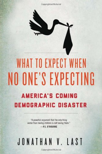 The cover of What to Expect When No One's Expecting: America's Coming Demographic Disaster