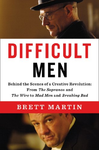 The cover of Difficult Men: Behind the Scenes of a Creative Revolution: From The Sopranos and The Wire to Mad Men and Breaking Bad