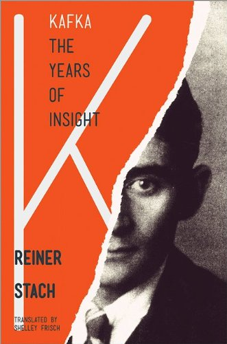 The cover of Kafka: The Years of Insight