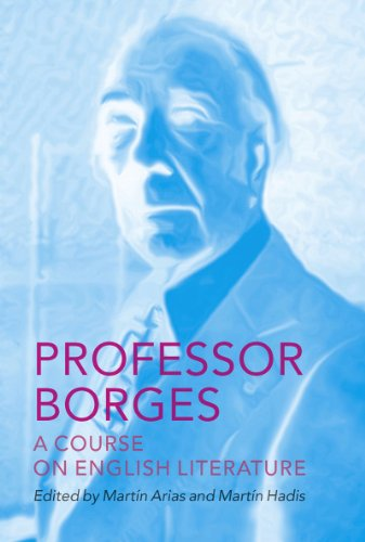 The cover of Professor Borges: A Course on English Literature