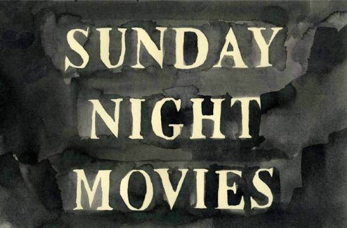 The cover of Sunday Night Movies