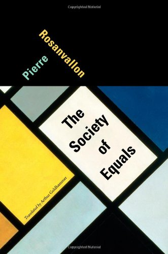 The cover of The Society of Equals