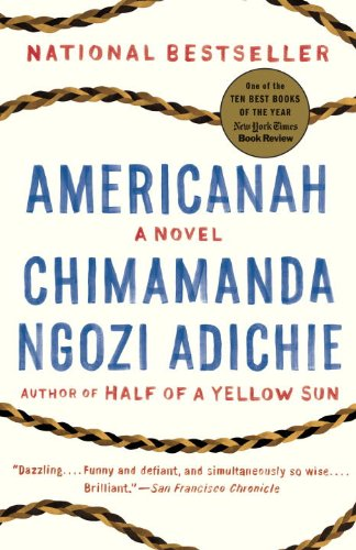 The cover of Americanah